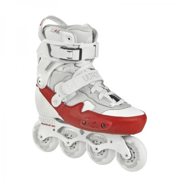 Powerslide Ultron - przykład rolek freeskate z butem opartym o wewnętrzną skorupę
