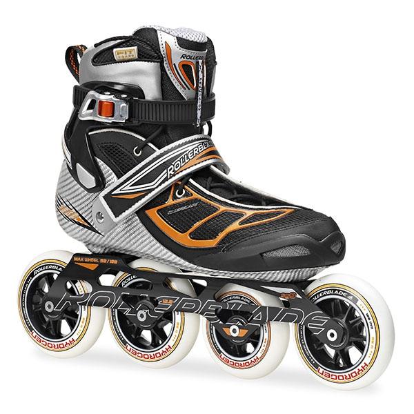 Rollerblade Tempest - przykład rolek typu semi-race z wyjmowalnym butem wewnętrznym (linerem)